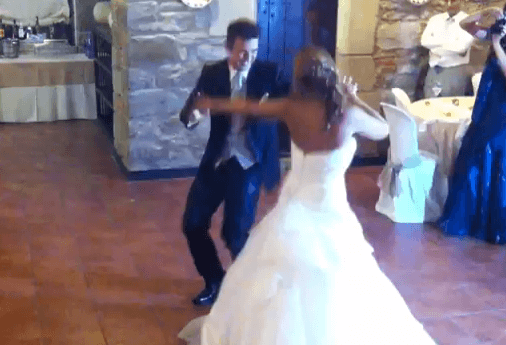 baile de novios original y muy divertido para el día de vuestra boda